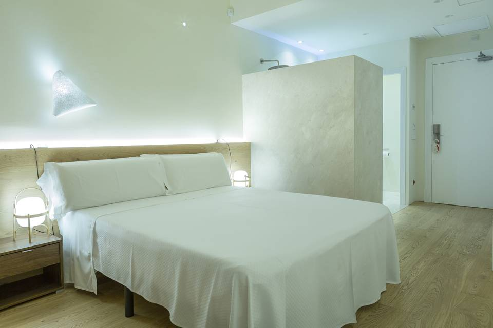 Modern double with terrace hotel casal santa eulalia can picafort